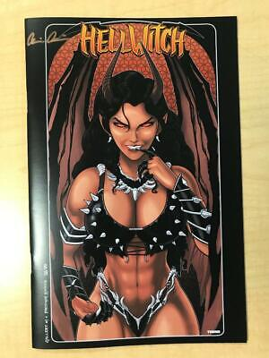 Hellwitch Gallery #1 Profane Variant Cover by Terry Huddleston Signed Pulido /99