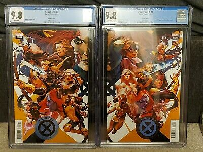 House of X #2 & Powers of X #2 Putri Connecting Variant Set CGC 9.8 Marvel X-Men