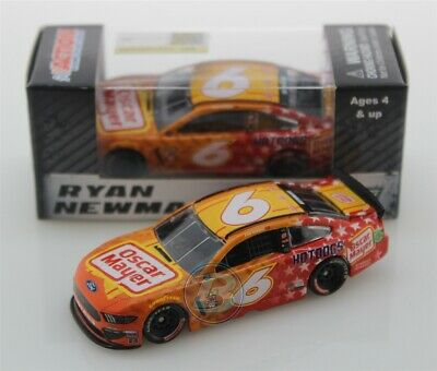 2019 RYAN NEWMAN #6 Oscar Mayer Patriotic 1:64 Action In Stock Free Shipping