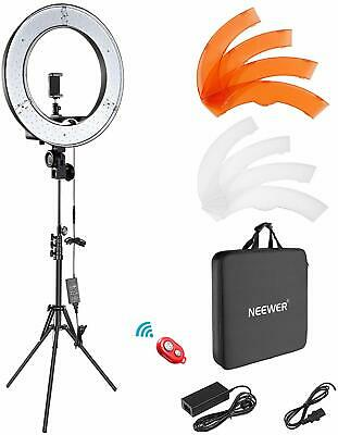 """Neewer Ring Light Kit:18"""" Outer 55W 5500K Dimmable LED Ring Light, Light Stand"""