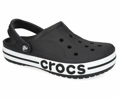 Crocs Bayaband Clog Sandals - Black/White