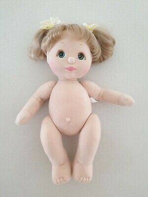 My Child Doll Aussie Ash Blonde Double Ribbon Green Eyes