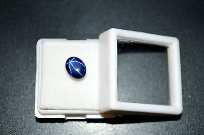 Precious Star Blue Sapphire Oval Cabochon Stone 5Ct For Ring 8*6mm Free Shipping
