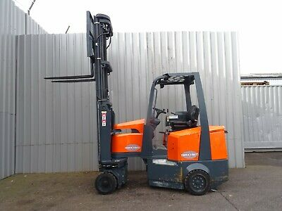 AISLEMASTER. 2000Kg. USED ELECTRIC FORKLIFT TRUCK. (#2304)