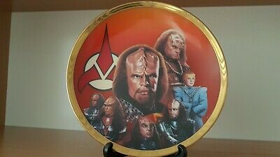 Star Trek The Next Generation Hamilton Plate - Redemption