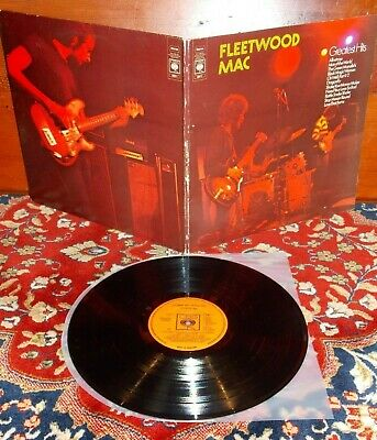FLEETWOOD MAC - GREATEST HITS / UK 1st CBS 1971  / NM LP
