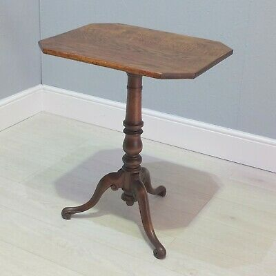 19th Century Antique Tripod Wine Table (X)