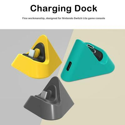 Portable Charging Dock for Nintendo Switch Lite Type C Charger Base Stand /B3