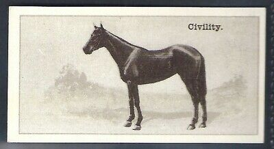 Wills Nz Issue-New Zealand Race Horses-#24- Civility
