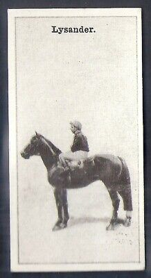 Wills Nz Issue-New Zealand Race Horses-#40- Lysander