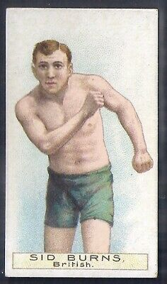 Wills Other Overseas-Boxers Boxing- Sid Burns