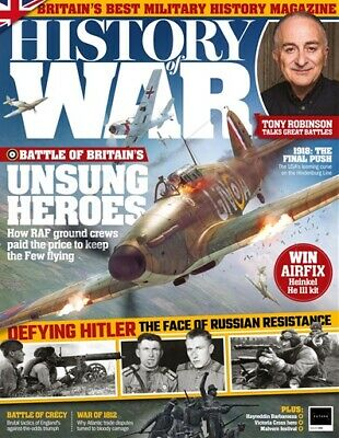History Of War Magazine Issue 59 - Battle Of Britain - Eastern Front - Military