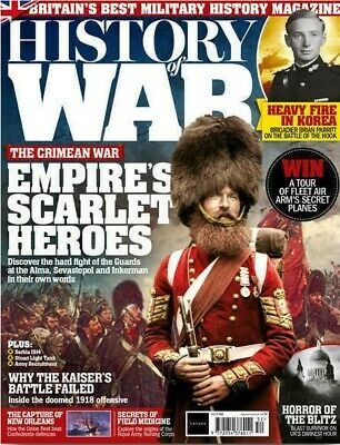History Of War Magazine Issue 52 - The Crimean War - 1918 Offensive - Military
