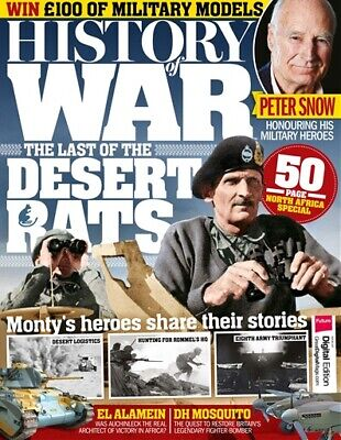 History Of War Magazine Issue 47 - Desert Rats - El Alamein - 8Th Army - War