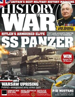 History Of War Magazine Issue 55 - Ss Panzer - Warsaw Uprising - P51 Mustang
