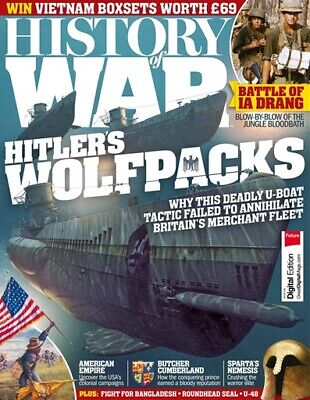 History Of War Magazine Issue 49 - Wolfpacks - Us Colonial Wars - Ia Drang