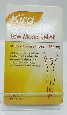 Kira Low Mood Relief Tablets 450mg 30 tablets - Brand New