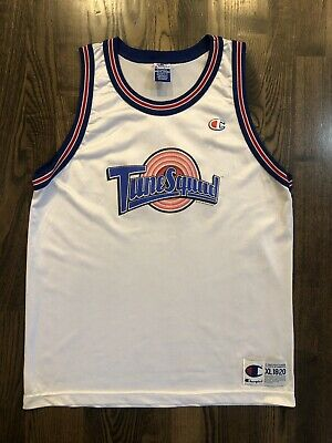 Vintage Champion MICHAEL JORDAN #23 Tune Squad Space Jam Jersey Youth XL (18-20)