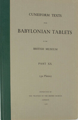 CuneiformTexts from Babylonian Tablets in the British Museum Part XX / 1966