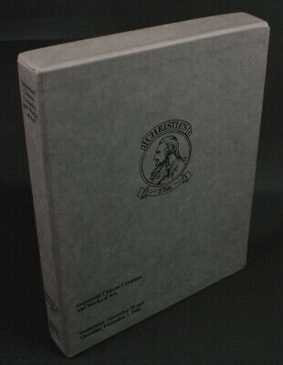 CHRISTIE'S NEW YORK / Important Chinese Ceramics and Works of Art 1983