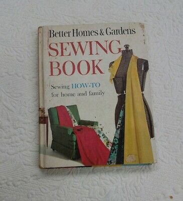 Better Homes and Gardens Sewing Book, Vintage