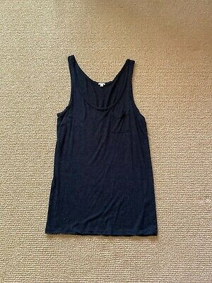 Women's J. Crew Gray Pocket Tank Top, Size Small Gently Used
