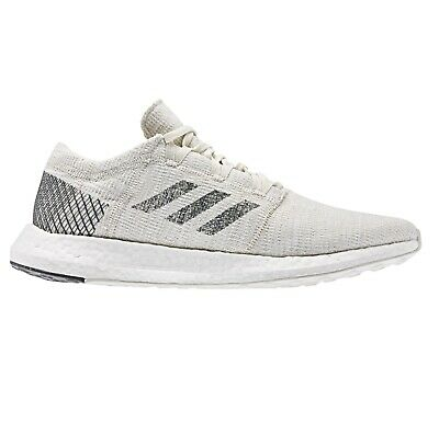 Adidas Pureboost Go Non Dyed Grey Raw White B37802 Mens Runnings Shoes