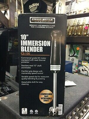 CHEF-BUILT (CS-100) 10-Inch Commercial Immersion Blender (10 Inches)