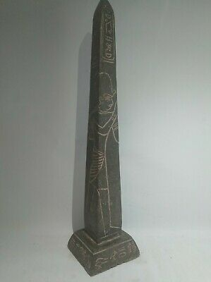 RARE ANTIQUE ANCIENT EGYPTIAN Temple House for Famous King Mina Words 1876 Bc