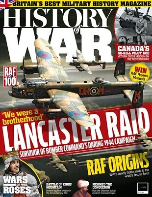 History Of War Magazine Issue 53 - Lancaster Bomber - Raf - Wars Of The Roses
