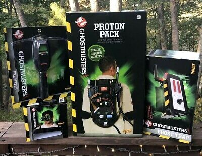 🔥 Ghostbusters Spirit Halloween Proton Pack Ghost Trap Googles Pke Meter Lot 🔥