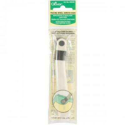 Clover Tracing Wheel-Serrated Edge, 480/W