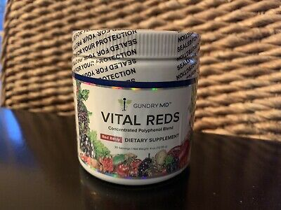 Dr Gundry MD VITAL REDS Factory Sealed 4 Oz Red Berry