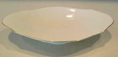 Lenox Oval Footed Relish or Small Serving Dish w/ Gold Trim