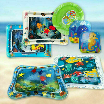 Inflatable Water Play Mat Infants Baby Toddlers Perfect Fun Best Tummy Time Y4F6