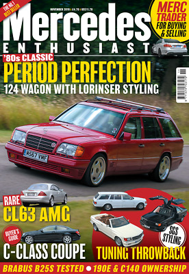 Mercedes Enthusiast Period Perfection Styling Issue 271 Nov 2019 Magazine W6
