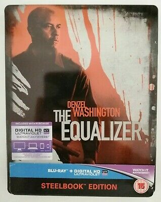 The Equalizer Bluray Steelbook - USED