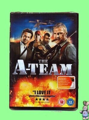 The A-Team DVD New Sealed UK Region 2 PAL Action Adventure Comedy