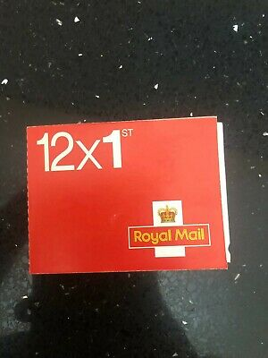 NEW 1ST First Class Royal Mail Self Adhesive Postage Stamps (book Of 12 Stamps)
