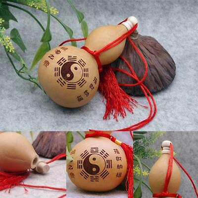 Home Craft 10cm Potable Carving Natural Dried Wine Bottle Gourd Decor Ornaments