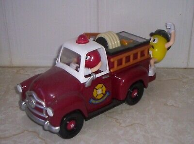 M& M Red Fire Engine