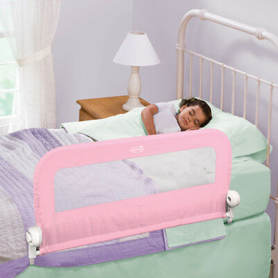 Summer Infant Bed Rail Grow With Me Single Pink