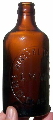 SA Amber C/Seal Clare Mineral Waters Co Ginger Beer