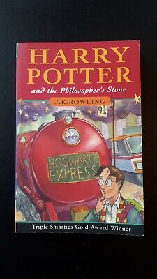 Harry Potter and the Philosophers Stone Paperback Book J K Rowling 97/2000 63rd
