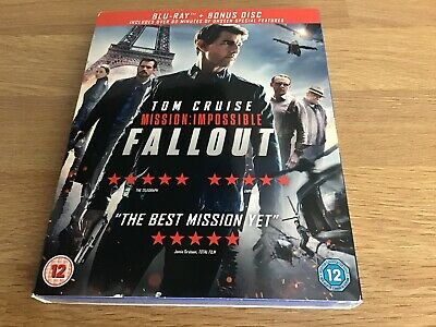 Mission Impossible Fallout Blu Ray Brand New Sealed
