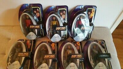 Star Trek The Next Generation Art Asylum / Diamond Select Wave 1 figures