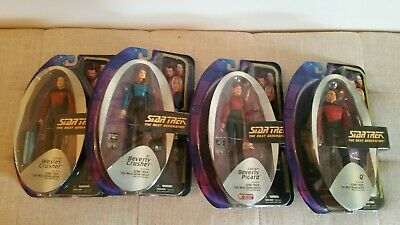 Star Trek The Next Generation Art Asylum / Diamond Select Wave 4 figures