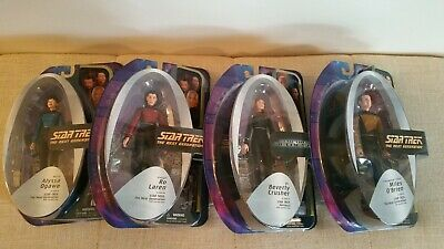 Star Trek The Next Generation Art Asylum / Diamond Select Wave 5 figures