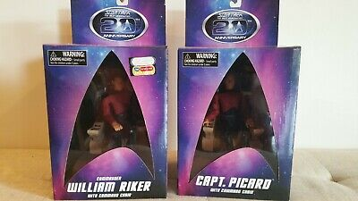 Star Trek The Next Generation Art Asylum / Diamond Select Picard & Riker