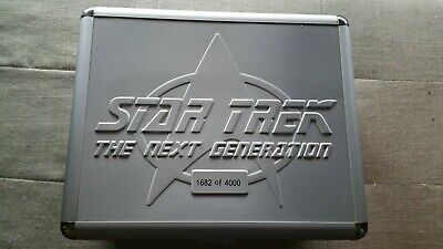 Star Trek The Next Generation DVD Limited edition numbered boxed set 7 seasons